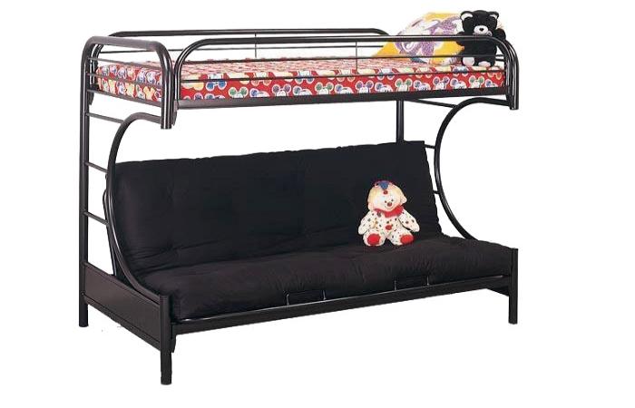 - Metal Futon Bunk Twin/Full Bunk Bed — Factory Direct Furniture Store
