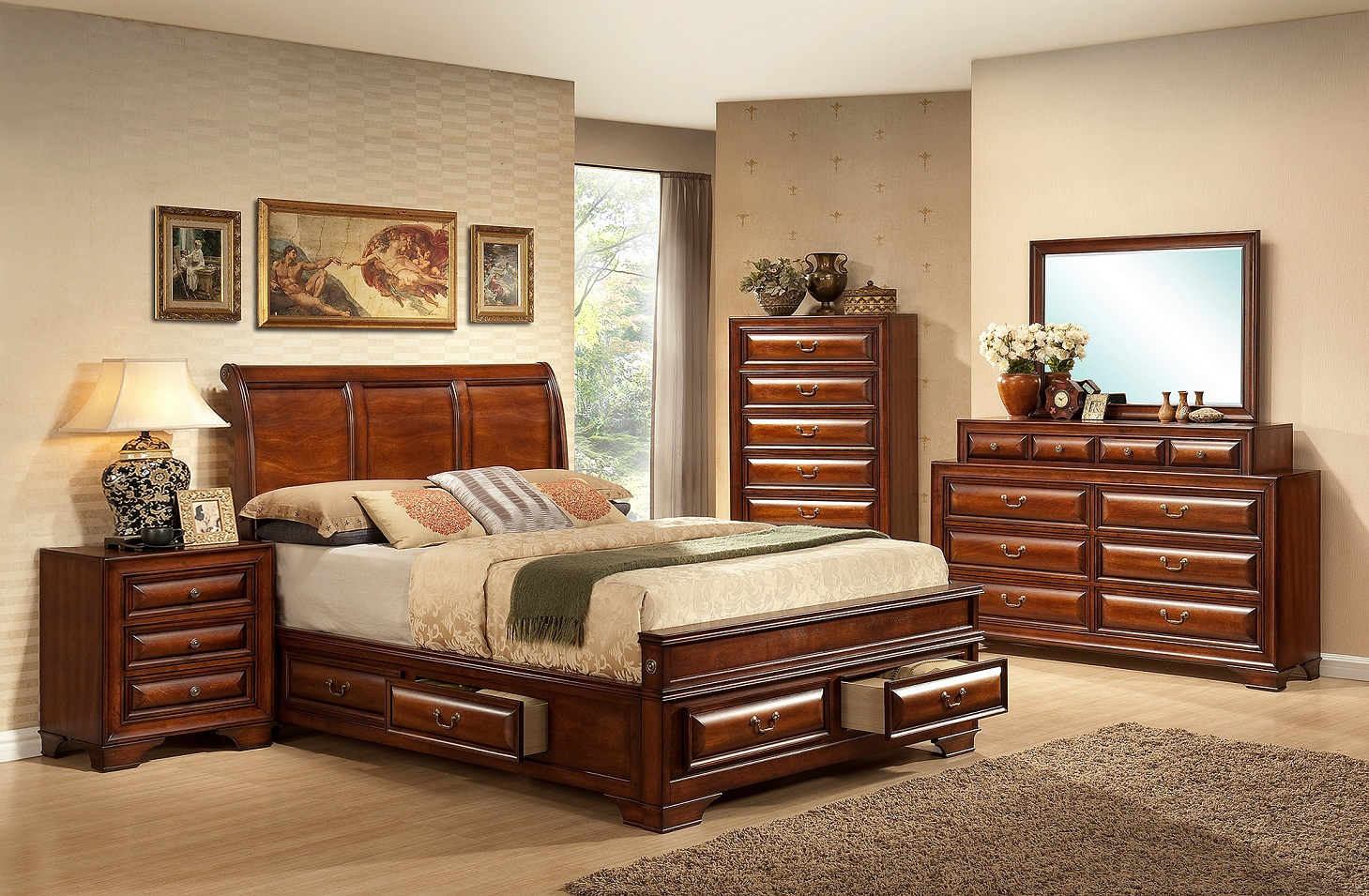 Lincoln Sleigh Factory Direct Furniture Store America The Beautiful Dreamer