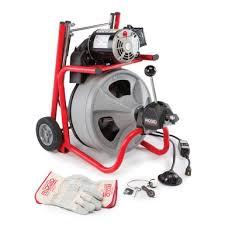 Deposit: $175.00 4HR: $55.00 Daily: $80.00  AKA: Drain Snake, Drain Auger, Plumbing Machine