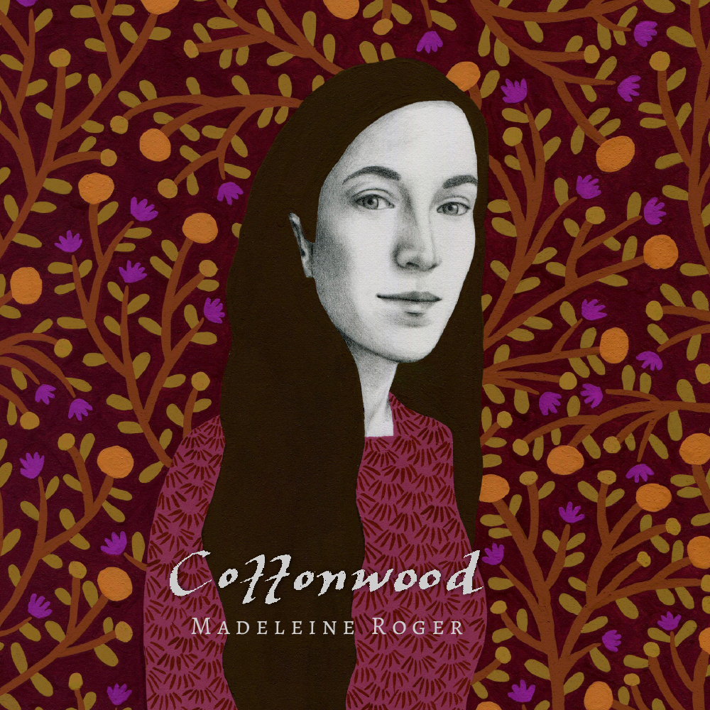Debut Solo Album - Title: Cottonwood.Release: October 26, 2018.Length: 11 songs, written and composed by Madeleine.Producer: Lloyd Peterson and Madeleine Roger.Studio: Paintbox Recording in Winnipeg.Mastering: Meaghan Ritchard at Laquer Channel.Artwork: Soffia Bonati.Graphic Design: Roberta Landreth.