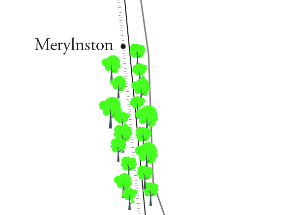 Batman to Merlynston Railway Stations