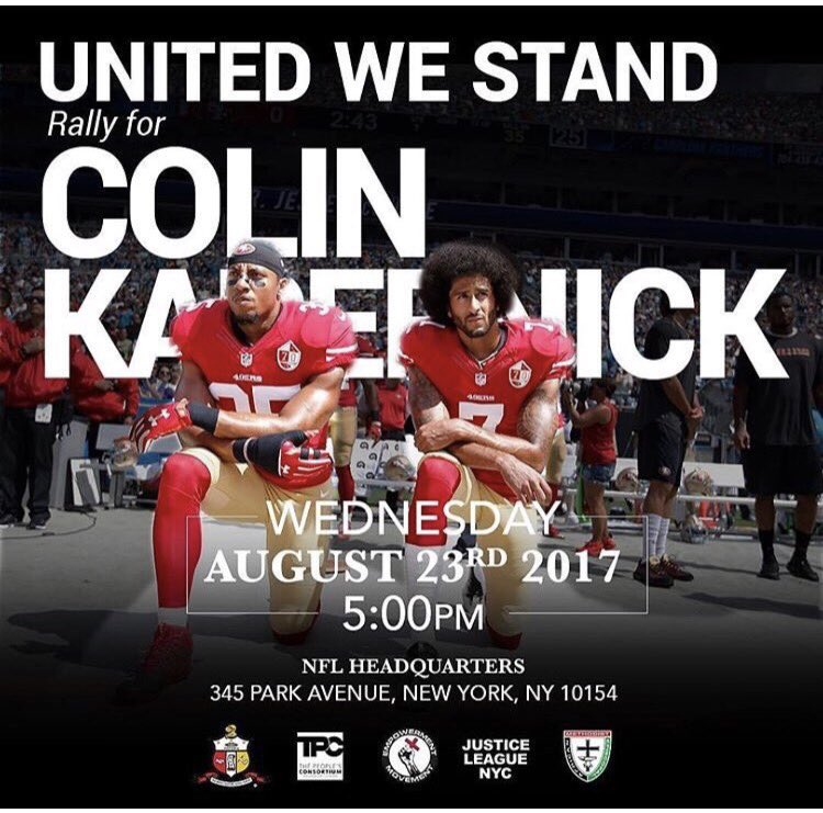 Spike Lee announces rally for Colin Kaepernick to be held outside of