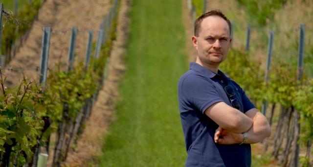 Pomiędzy krzewami winorośli czuję się najlepiej.
