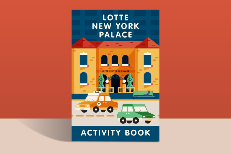 Lotte New York Palace Activity Book