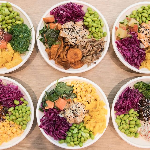 Bowl goals.🙌🏻 Did you know you can make your own CUSTOM POKÉD in all stores? Just chat to our friendly staff who will help you to put together the perfect combo of fresh and nutritious ingredients. #pokedau