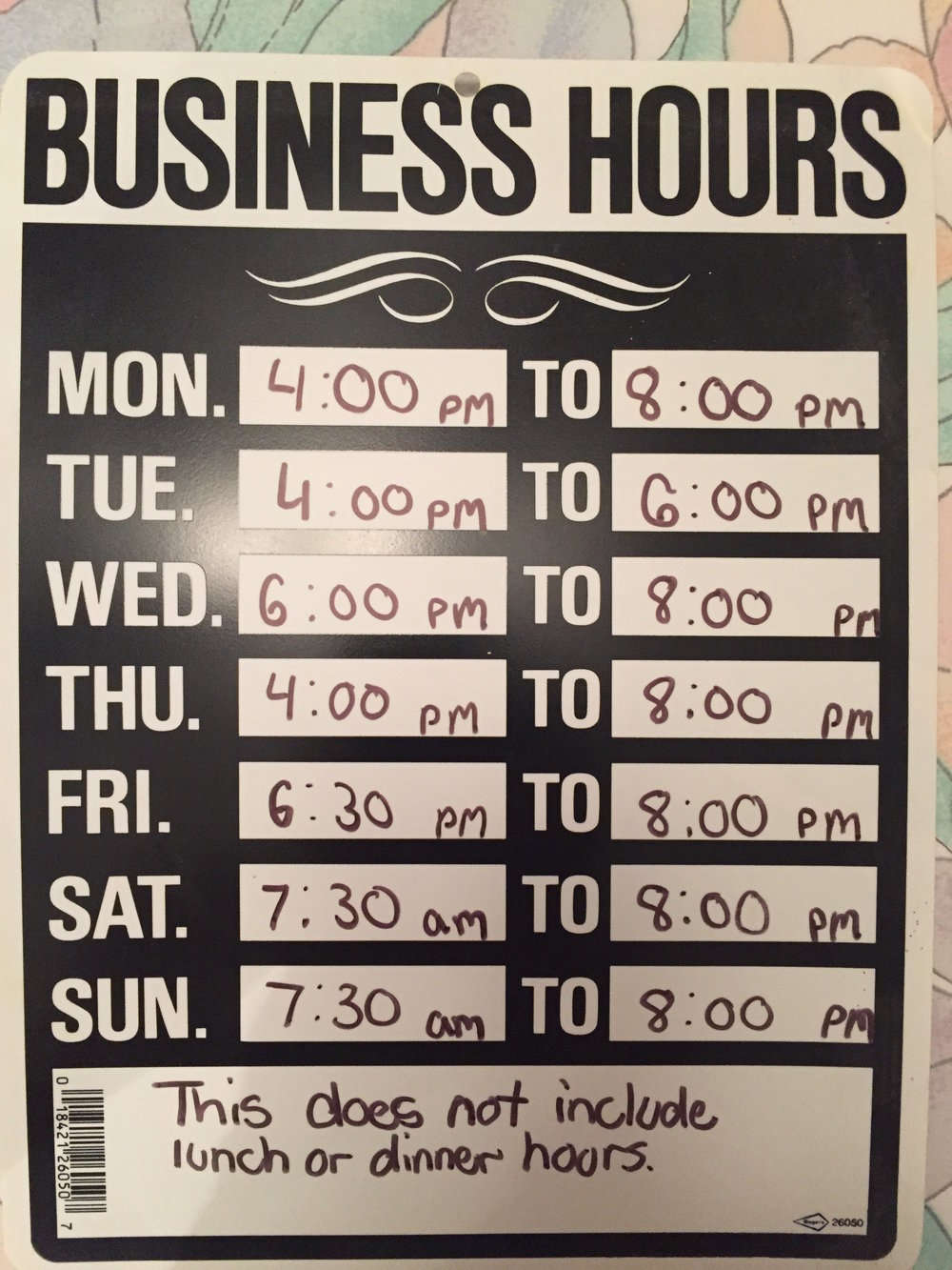Convenient Hours and Horrible Prices