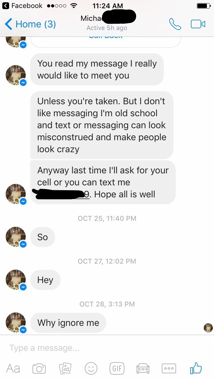 Messaging can make people look crazy