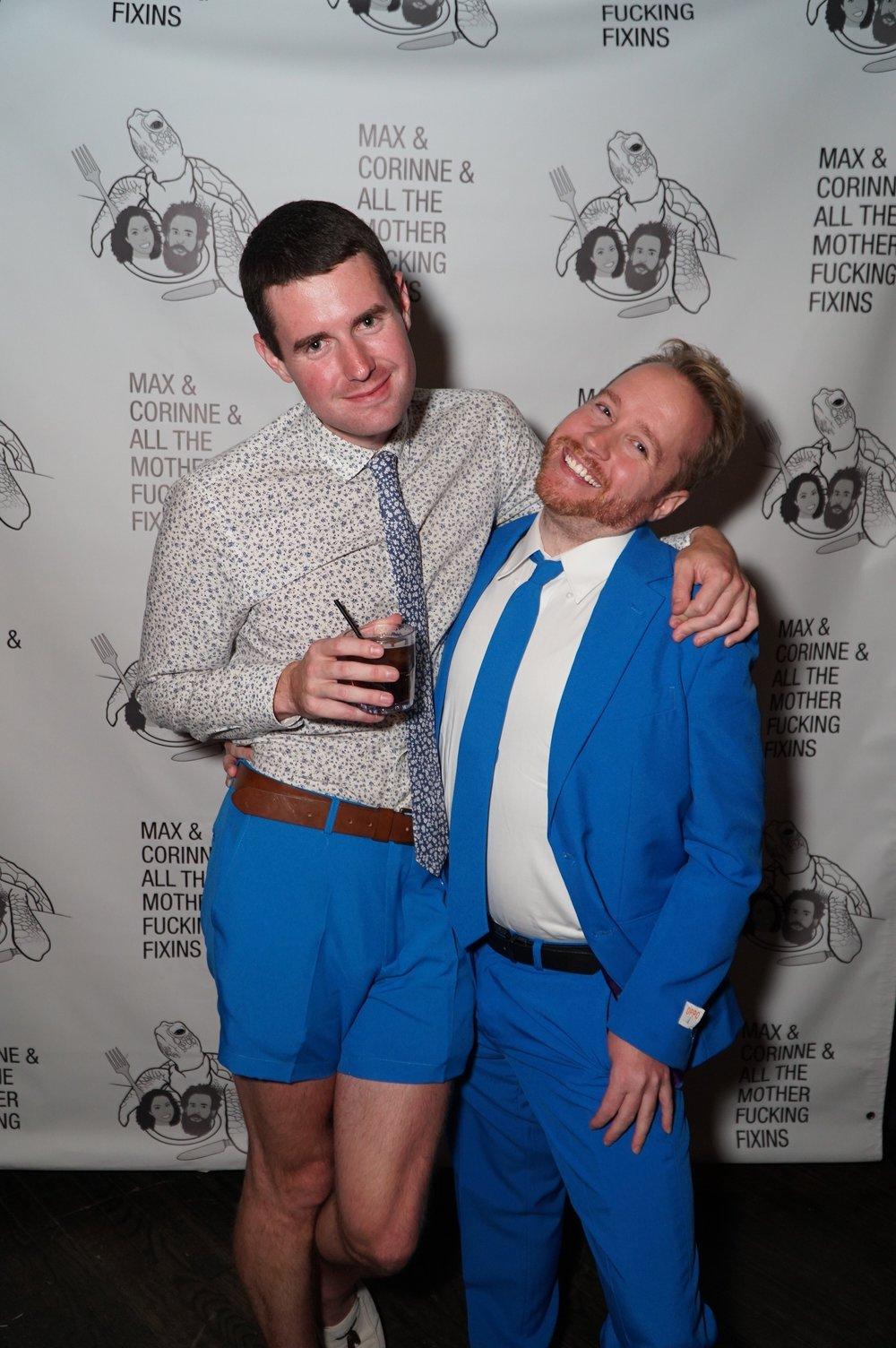 Cruise Director Brett and Hozach