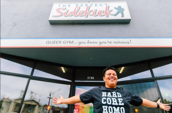 Nathalie, Chief of Making Shit Happen, founded The Queer Gym in 2010 in Oakland, Ca.