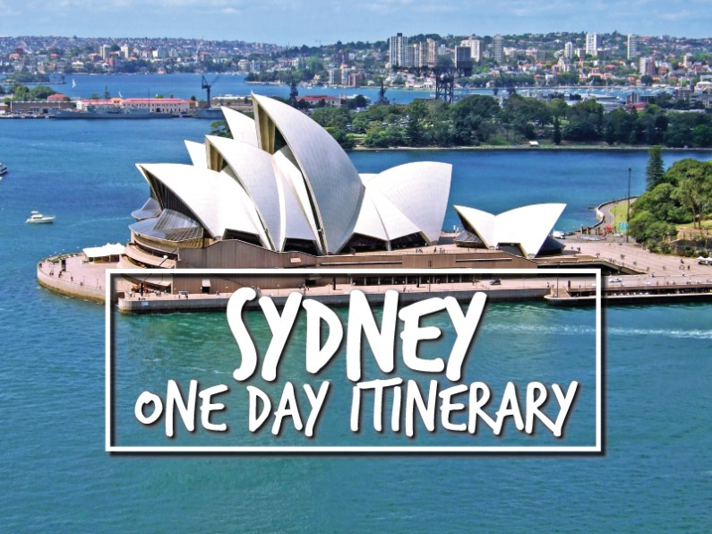 One Day in Sydney Itinerary,  www.onedayitinerary.com