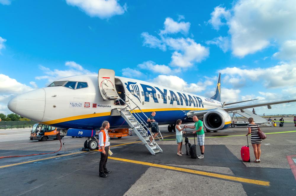 Flight into Biarritz