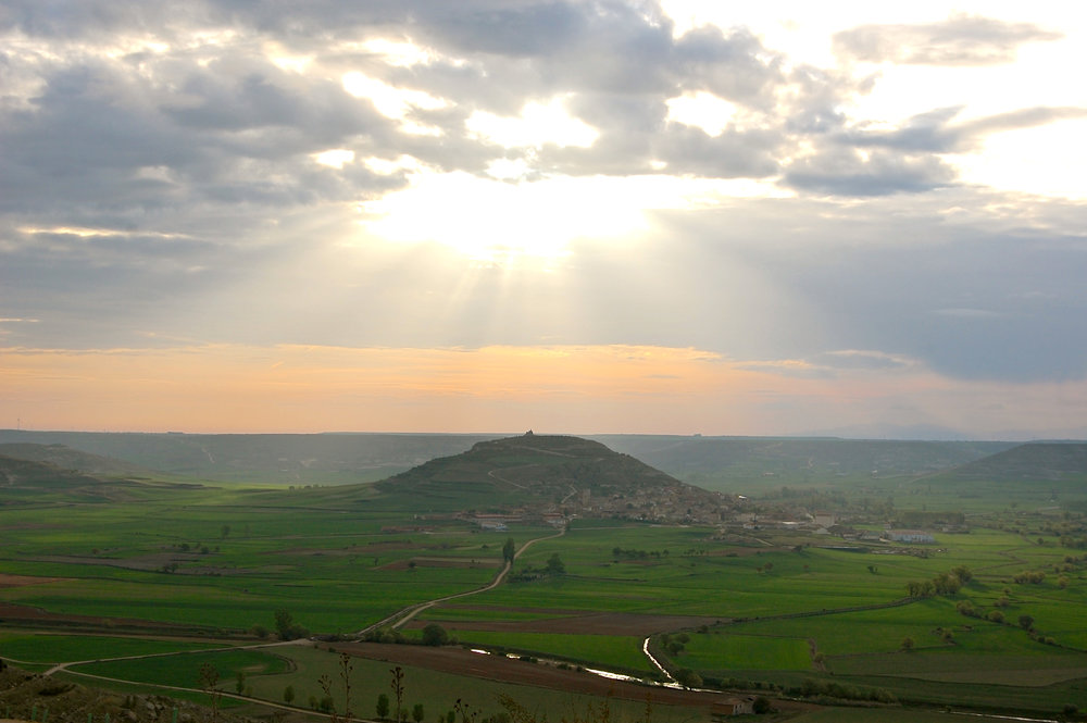 Heather Bohannon:  The View from Here, Judges Favorite and First Place in Camino Landscape