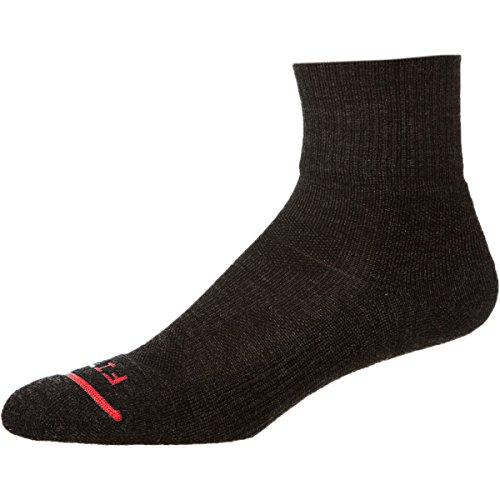 Fits Light Hiker Quarter Crew Sock