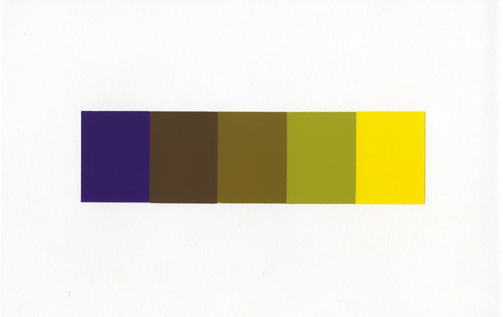 Purple to Yellow