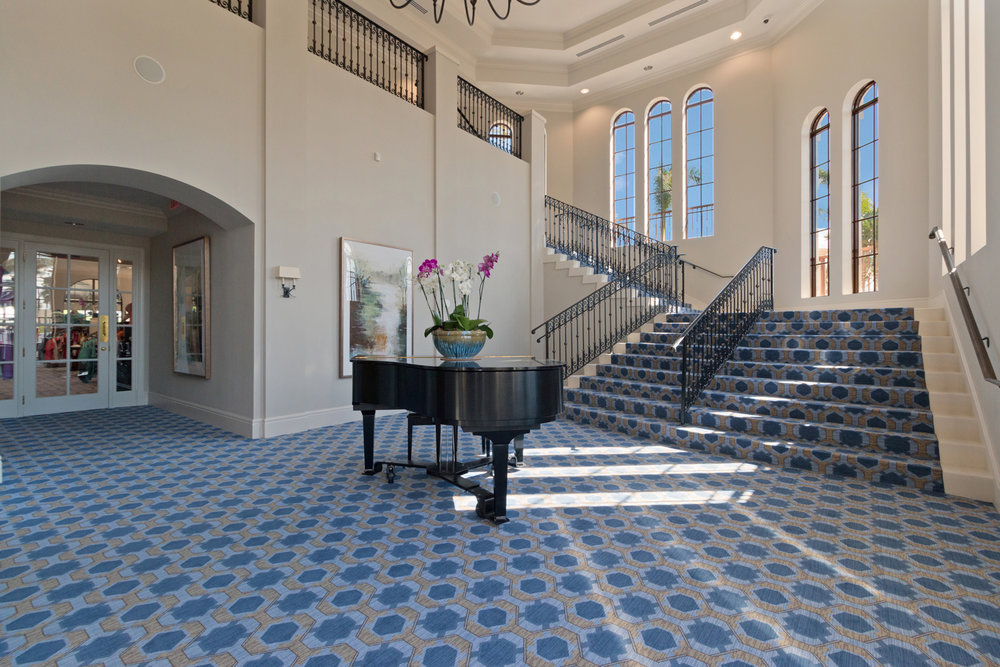 Royal Palm Yacht & Country Club Boca Raton Woven Axminster Carpet