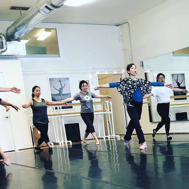 A peek into Adult Beginning Ballet with Cinthia!  Build a beautiful foundation for your dance technique.  Sundays at 11:15 am and Thursdays at 5:45 pm. 💗💃🏻✨ @dance.with.cinthia • #adultbeginningballet #adultballet #studio505dance #balletforeveryone #dancelife #danceforeveryone #sanfranciscodanceclasses #mercedheights #oceanviewterrace #inglesideheights #sfstate #sfcitycollege