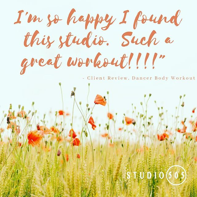 Sending gratitude to all our clients. 🙏💗 We love working with you! • #studio505dance #clientfeedback
