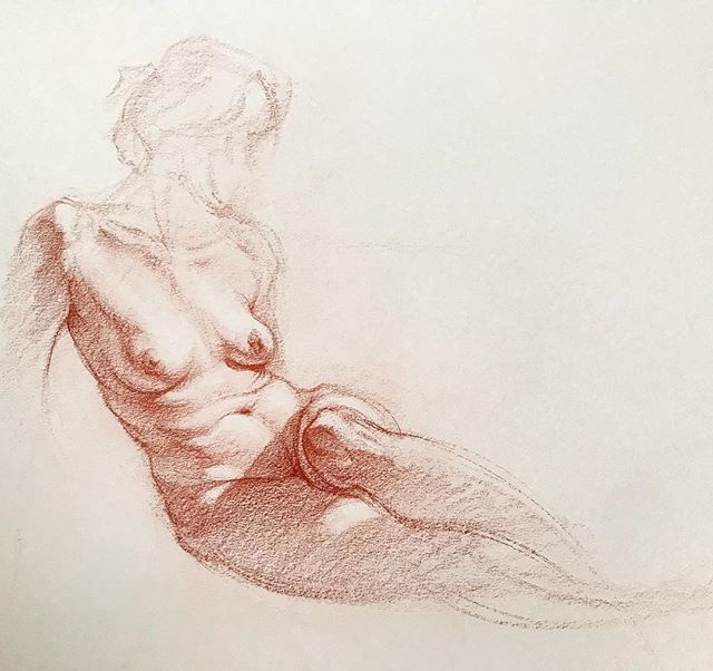 Drawing of Megan #drawing #figuredrawing #figuredrawingclass
