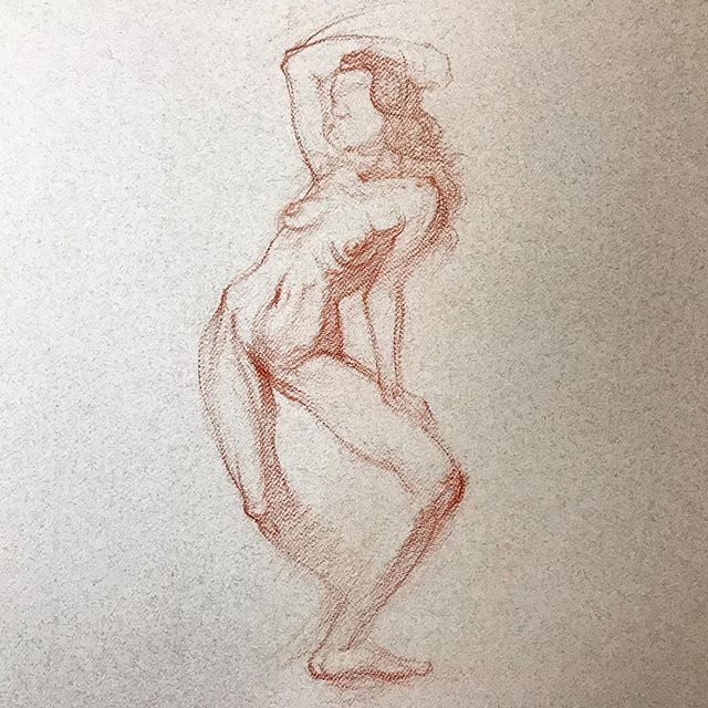 15 minute drawing of Devon. #drawing #figuredrawing