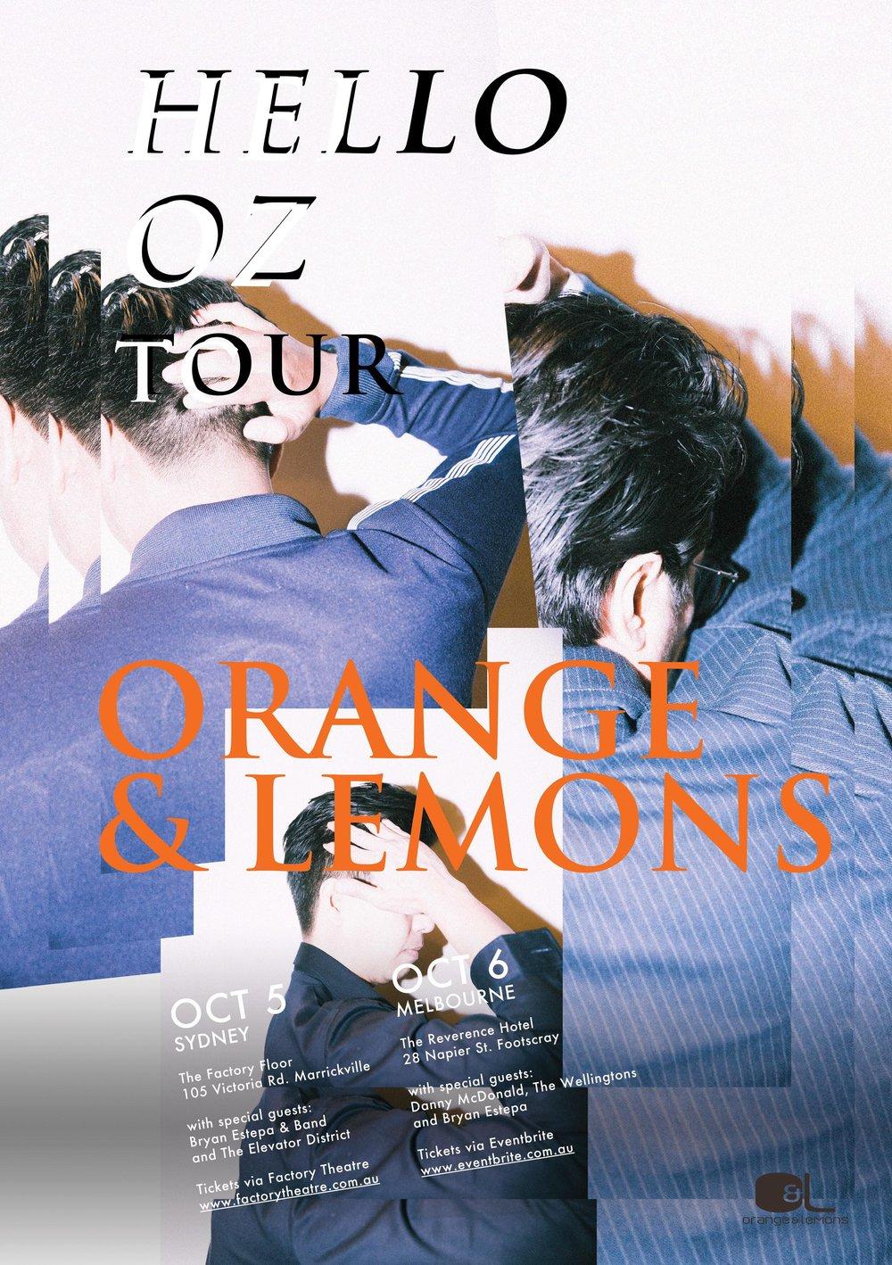 O&L Tour Poster