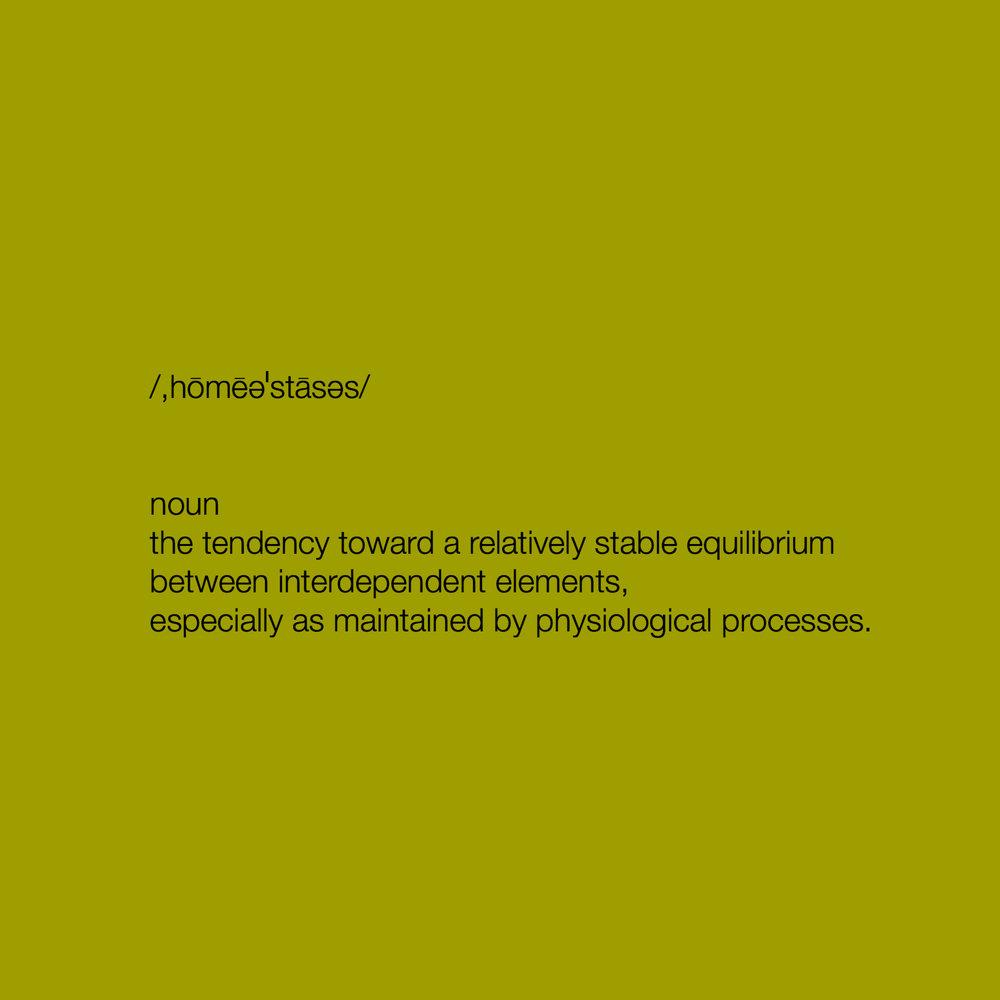 homeostasissundazeoliviajade