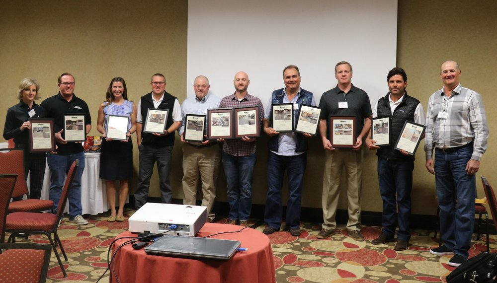 2016 Bomanite Award Winners