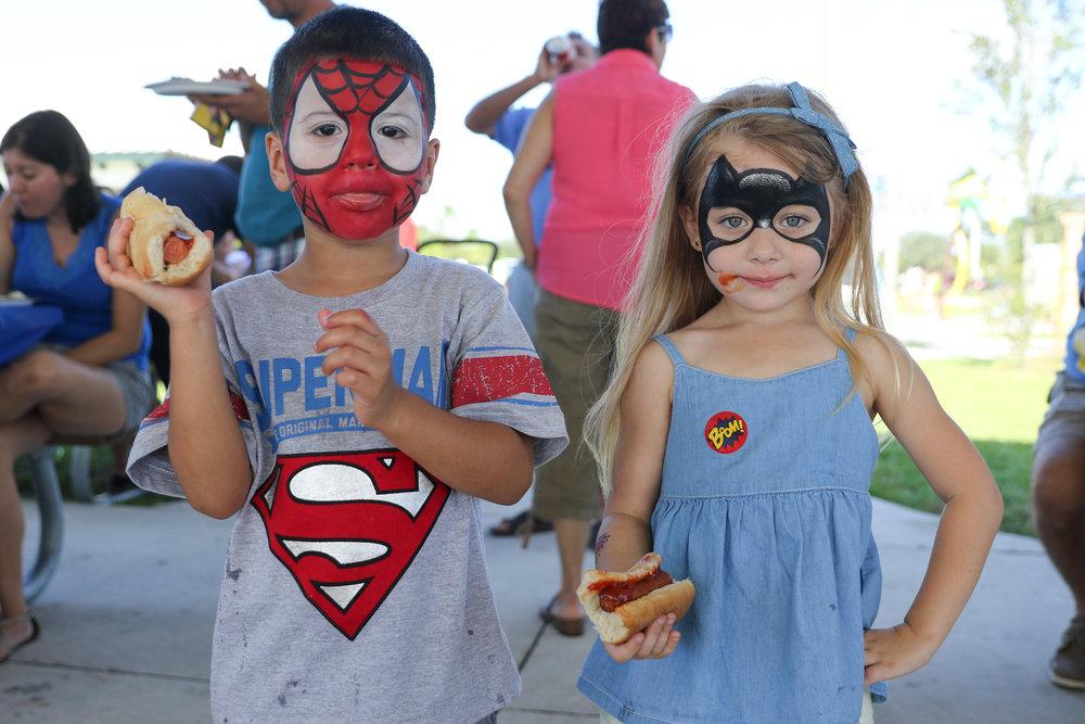Comic Book Superheroes 1st Birthday Bash | Nicole Wallace Photography