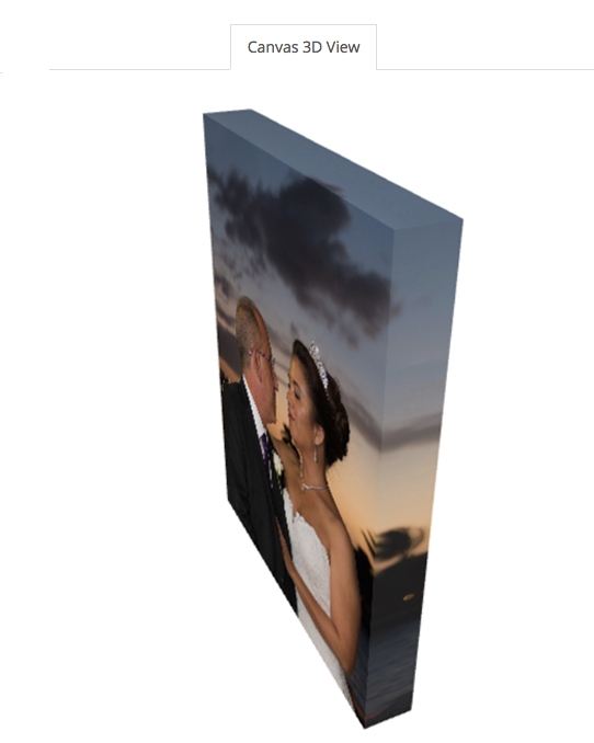 11 x 14 Gallery Canvas Wrap (View 3)