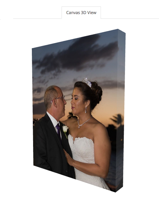 11 x 14 Gallery Canvas Wrap (View 2)