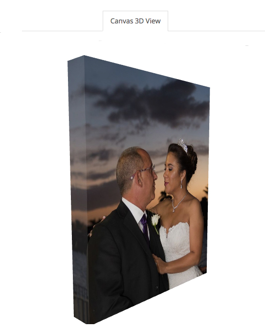 11 x 14 Gallery Canvas Wrap (View 4)