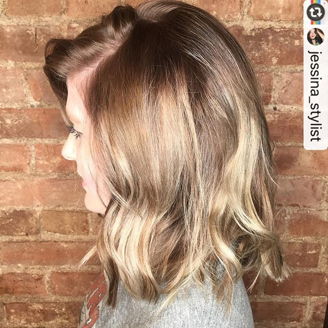 Beautifully done color by @jessina_stylist 🙌