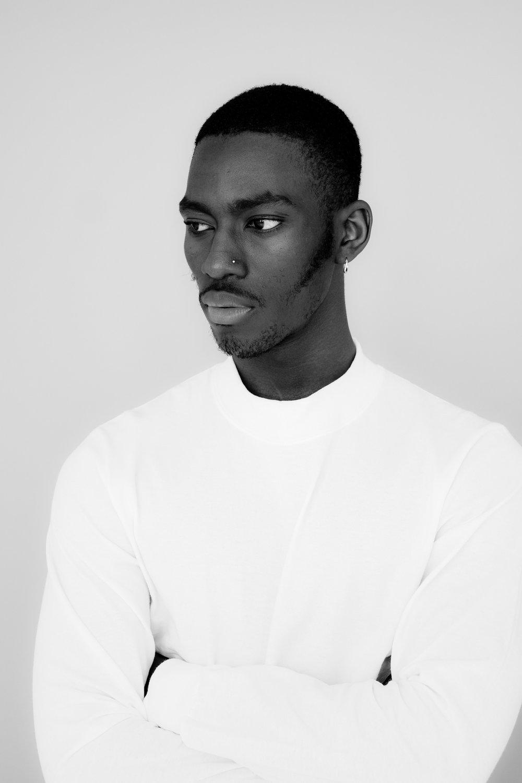 portraitnoire debut shoot-- black portrait photography. chicago IL