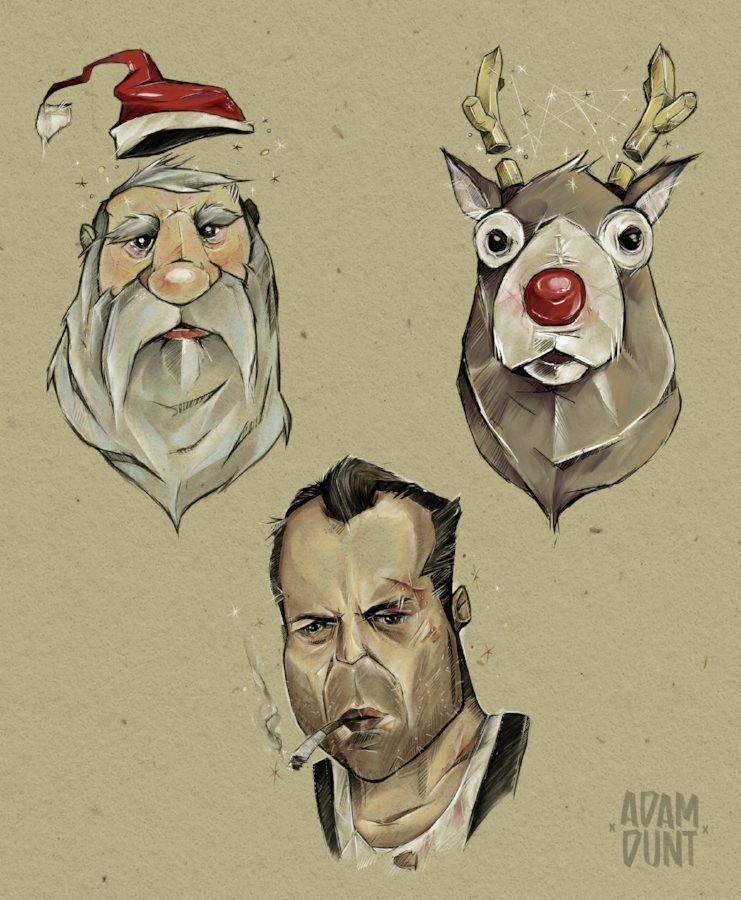Magical Christmas Characters