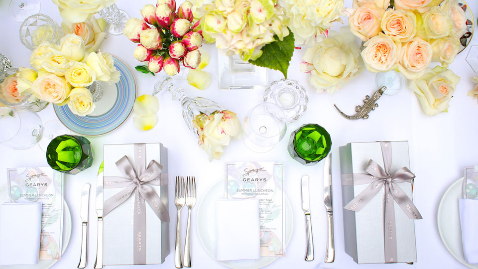 AGENC | GEARYS Beverly Hills | #EntertainBeautifully Influencer Summer Luncheon at SPAGO