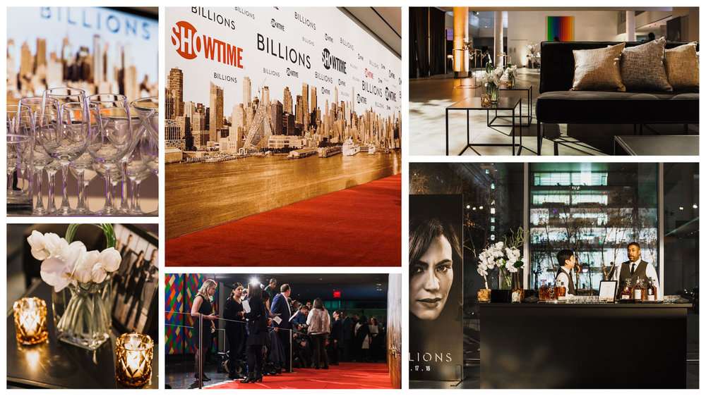 AGENC | Showtime | Billions New York Premiere
