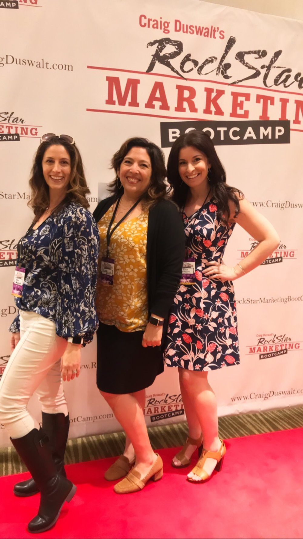 Two of my favorite people from eWomen Network: Kim and Elisa!