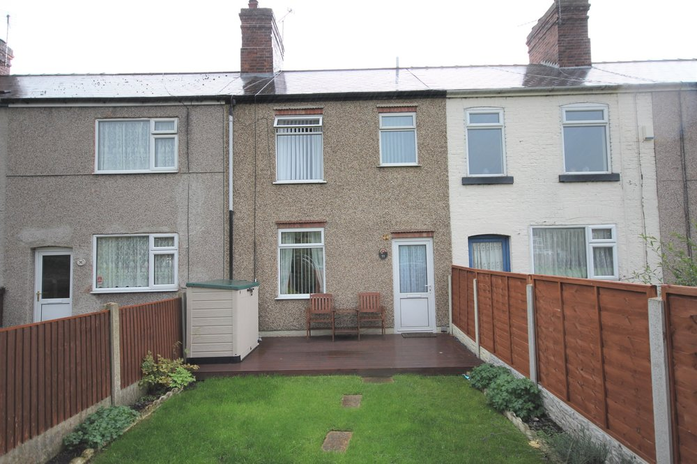 IT'S GONE! - £76,500 Queen Street, Ironville, Nottinghamshire, NG16 5NL - 2 BEDROOM TERRACE*NO ONWARD CHAIN* Charming two double bedroom terrace with views over the village green and countryside walks in easy reach! Including lounge, dining kitchen, cloakroom WC, first floor bathroom and more. EPC rating D