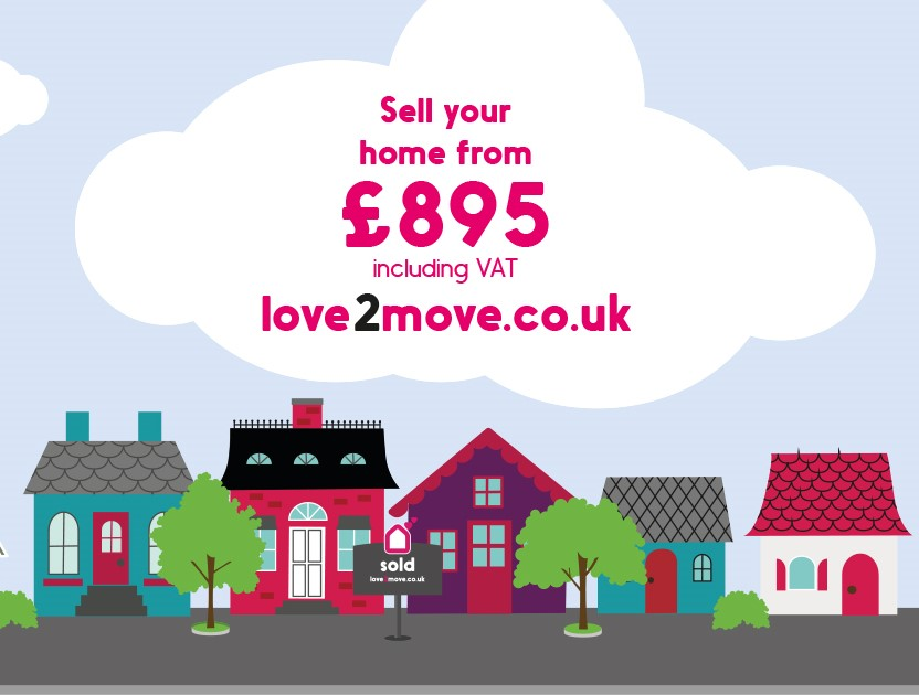 Want to save £££? - MCM Estates and Lettings have partnered with love2move, allowing you to save money when you sell your house online; supported by real local agents.
