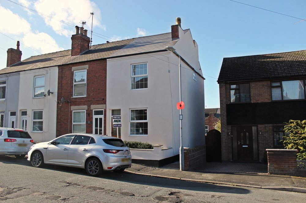 IT'S GONE! - £127,950 York Avenue, Jacksdale, Nottinghamshire, NG16 5LA - 2 BEDROOM TERRACEReady to move into! Sleek and stylish décor marry with traditional touches and spacious rooms to create a first-time buyer or young family's dream, all wrapped up in a peaceful location close to the village centre and its amenities and commuter routes. EPC rating E