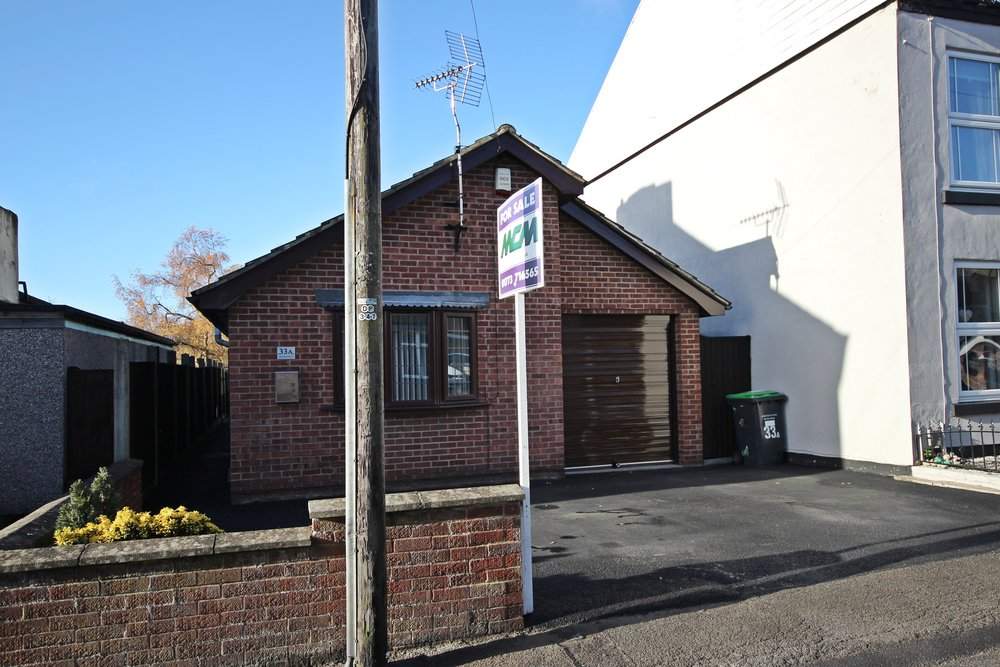 IT'S GONE! - £177,500 New Westwood, Westwood, Nottinghamshire, NG16 5JD - 3 BEDROOM DETACHED BUNGALOW*NO ONWARD CHAIN* More than meets the eye! This generously proportioned three-bedroom detached bungalow with driveway, garage and private rear garden, just a short stroll from countryside walks is an absolute must-see. Quiet no-through road, sought after village location. EPC rating D.