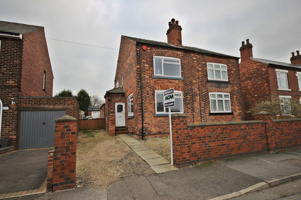 IT'S GONE! - £209,950 York Avenue, Jacksdale, Nottinghamshire, NG16 5LA - A deceptively spacious 3 bedroom semi detached home with gager and off road parking. More infromation coming soon,