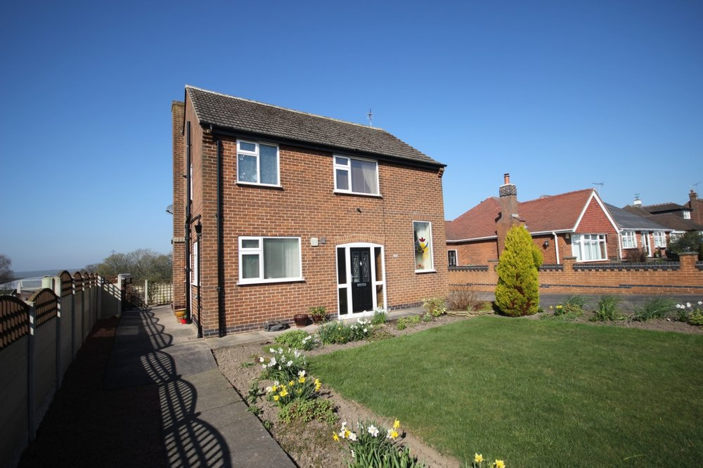£310,000 Plainspot Road, Nottinghamshire, NG16 5BQ - 3 BEDROOM DETACHEDA stunning detached property brimming with character and stunning field views - comprising of a grand entrance hall, spacious lounge, dining kitchen, three bedrooms and a modern shower room, plus mature gardens to front and rear with driveway parking, all located in the heart of rural Brinsley. EPC Rating D