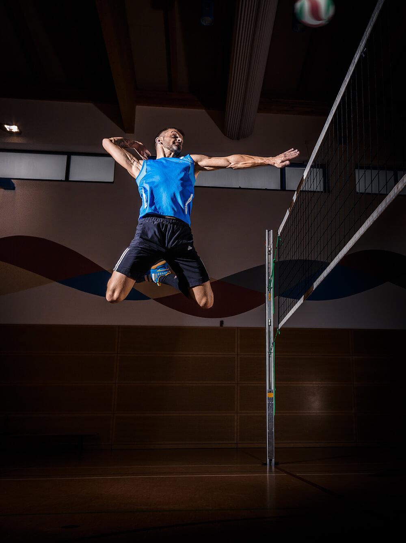 Volleyball-Sportfotograf Annaberg-Buchholz