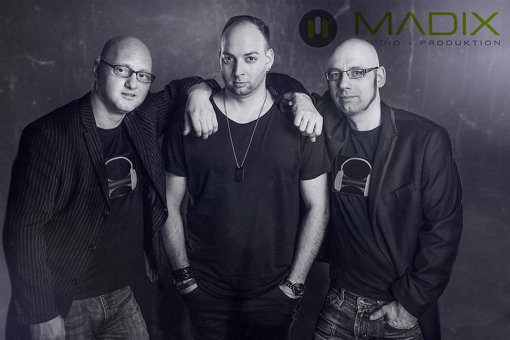 MartinBePunkt, DJ Rixx, DJ AD-DE