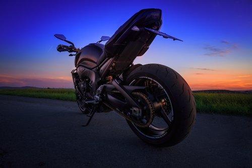 Motorrad Shooting Photoron