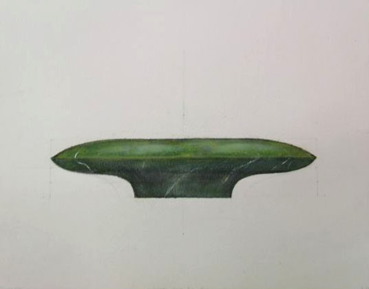 15 studies for -SiwaOracle,2005,watercolour#1.JPG