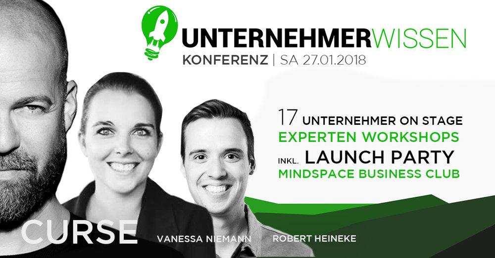 Die Veranstaltung von Unternehmern für Unternehmer - Themen: Marketing, Vertrieb, Finanzen, Strategie & Gesundheit