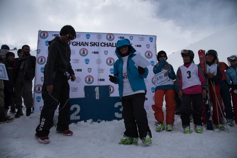 The 8th annual Afghan Ski Challenge.