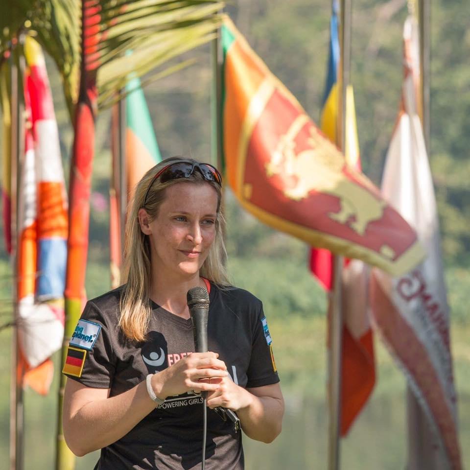 Connie Schneider, Free to Run's first Board Chair