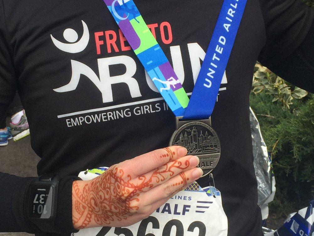 NYC Half Marathon Medal.JPG